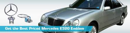 mercedes e320 emblem emblems genuine 1999 2001 1998 2000 2003