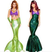 Womens Mermaid Halloween Costume Womens Mermaid Costume Ebay