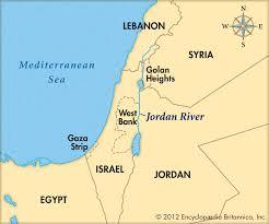 Yellow River Map Map Of Jordan River Popular River 2017