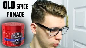 old spice spiffy pomade review drug store styling products youtube
