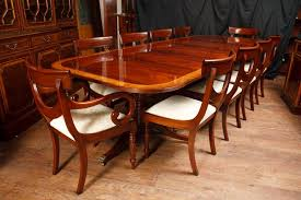 antique mahogany pedestal table regency table and chairs antique dining room