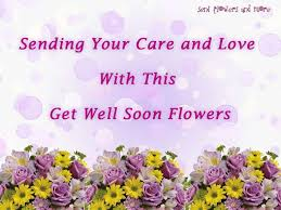 sending your care and love with this get well flowers