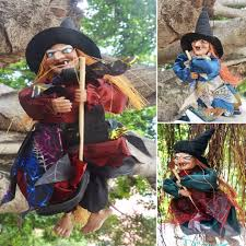 halloween witches decorations popular hanging witch decoration buy cheap hanging witch