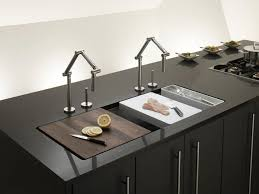 stainless steel countertop with built in sink sink for kitchen brilliant trend integrated countertop and designwud