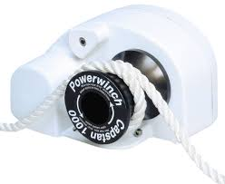 amazon com powerwinch capstan 1000 boating windlasses sports