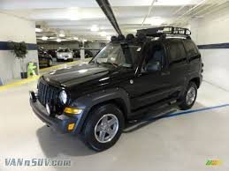 renegade jeep black 2005 jeep liberty renegade 4x4 in black clearcoat 537894