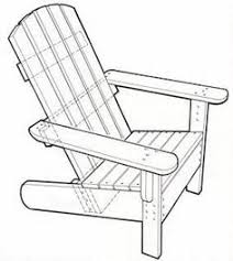 Wooden Outdoor Furniture Plans Free by Popular Mechanic Adirondack Chair Plan Does Someone Want To Make