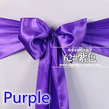 satin sash belt sash belt satin sashes bow tie purple colour wedding hotel party