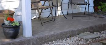 Covering Old Concrete Patio by How To Revive A Concrete Patio With Stain Fire Pit Life