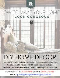 Home Design Courses Perth Home Diy Course Molyneux Designs