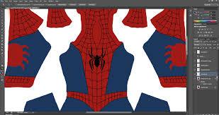 patterns spider man mashup cosplay costume 3