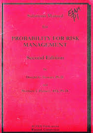 solutions manual for probability for risk management donald g