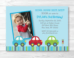 car birthday invitation car birthday invite car birthday theme
