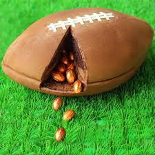 football cake 3 d day football cake filled with chocolate footballs