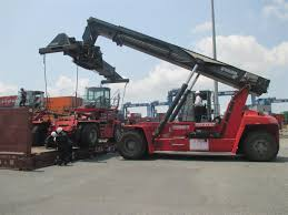 commissioning tests and hand over 02 units brandnew kalmar emtpy