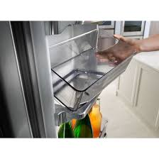 Kitchenaid Counter Depth French Door Refrigerator Stainless Steel - krfc704fss kitchenaid 36