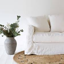 cap canapé canapé déhoussable en froissé cap breton blanc cassé canapé