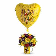 balloon delivery worcester ma happy birthday flowers in a mug at send flowers