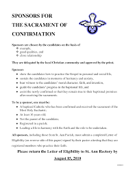 examples of catholic confirmation letters k k club 2017