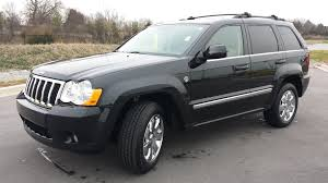 jeep cherokee grey with black rims sold 2009 jeep grand cherokee limited 4x4 5 7 hemi 94k black with