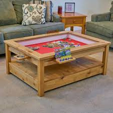 Gaming Coffee Table The Viscount Rustic Gaming Coffee Table Uniquely