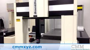 used brown u0026 sharpe xcel 7 10 7 cmm for sale cmm inc youtube