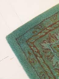 diy overdyed area rug tiny kelsie
