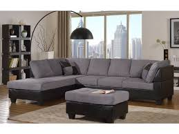 Grey Sectional Sofas Master Furniture Living Room Two Tone Grey Sectional Sofa 2321