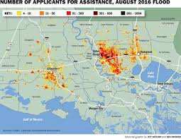 New Orleans Flood Zone Map by See Fema Claims Money Distributed In Your Baton Rouge Area