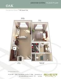 senior housing floor plans floor plans briarview senior living in carrollton texas