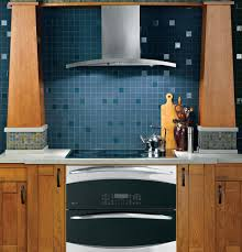 kitchen stainless range hood design ideas with ge profile range