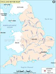 Physical Map Of South America Rivers by England River Map Rivers In England