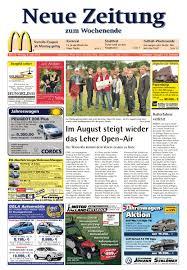 Flying Pizza Bad Zwischenahn Neue Zeitung Ausgabe Emsland Kw 23 2012 By Gerhard Verlag Gmbh