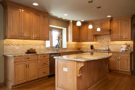 Kitchen With Maple Cabinets Marvelous Maple Custom Cabinetry In Naperville