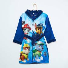 robe de chambre originale robe de chambre garcon unique peignoir pat patrouille bébé gar on
