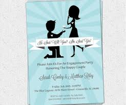 Size Of A Invitation Card Flossy Engagement Gifts Engagement Party Gifts Ideas To The How To