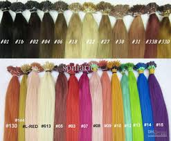Color Hair Extension by 15 Off 18 U0027 U0027 I Tip Stick Tip Highlight Rainbow Colorful Indian