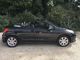 peugeot convertible used peugeot 207 for sale south yorkshire