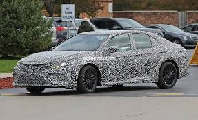 toyota camry custom 2018 toyota camry spied looks remarkably similar to 2017 nascar