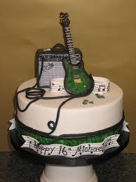 guitar music birthday cake cakes pinterest music birthday