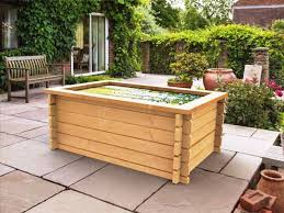raised garden pond kits timber water features u0026 fish ponds