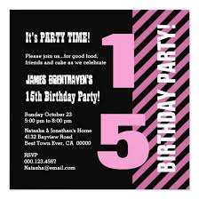 15th birthday invitations u2013 unitedarmy info
