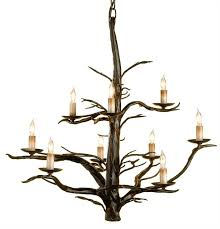 branch chandelier iron faux branch chandelier large the designer insider