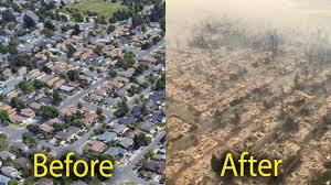 Wildfire California Video by Santa Rosa Fires Before And After Wildfires Now And Then