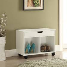 Home Decorators Storage Bench Home Decorators Collection Mobile Office Storage Cart On Wheels In