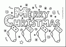 Stunning Merry Christmas Coloring Pages Printable With Christmas Merry Coloring Pages Printable