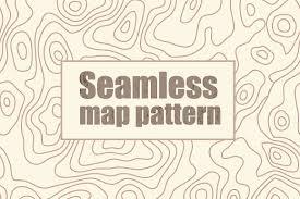 map pattern seamless map pattern patterns creative market