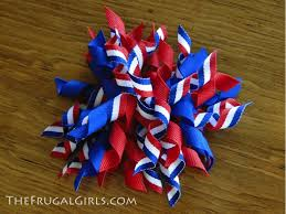 fourth of july hair bows how to make korker hair bows the frugal
