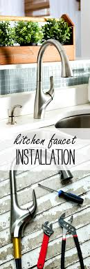 kitchen faucets installation faucet installation it all started with paint