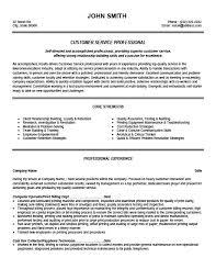 customer service professional resume template premium resume